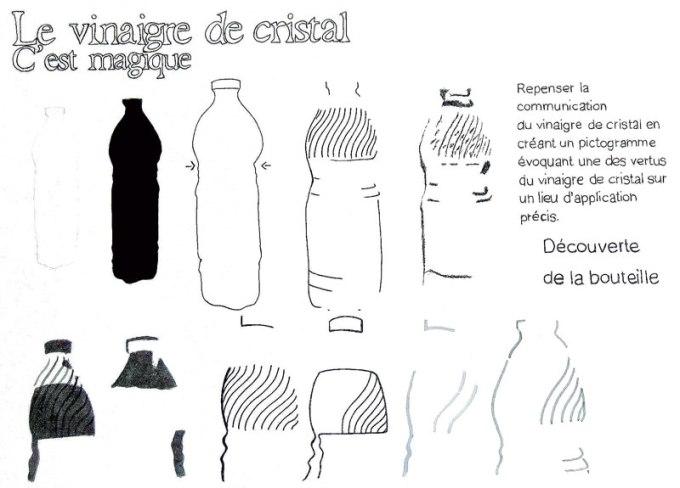 Vinaigre de cristal | Expérimentation logotype