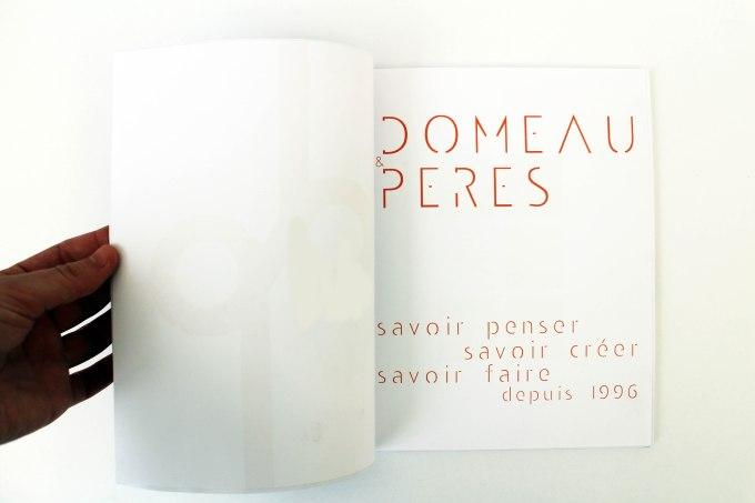 DOMEAU&PERES | Page de garde