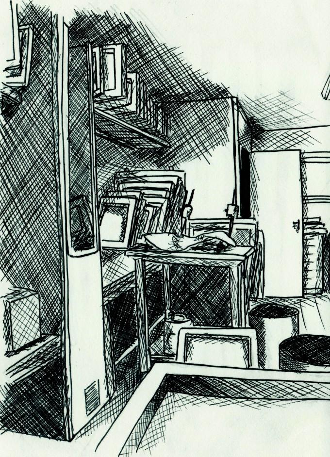 Illustre ton stage   Intérieur de l'atelier