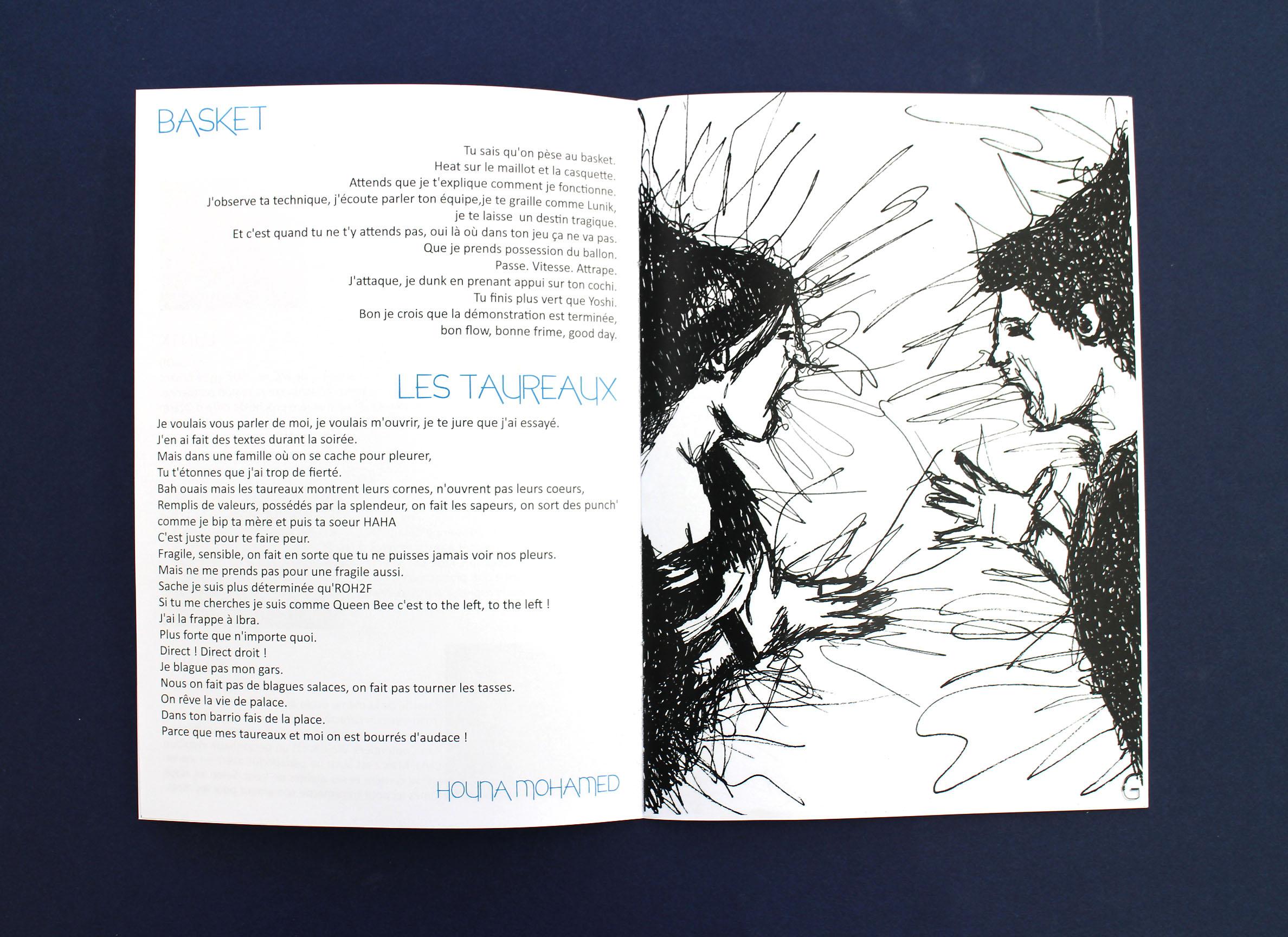 Montre ta voix, slam | Pages intérieures