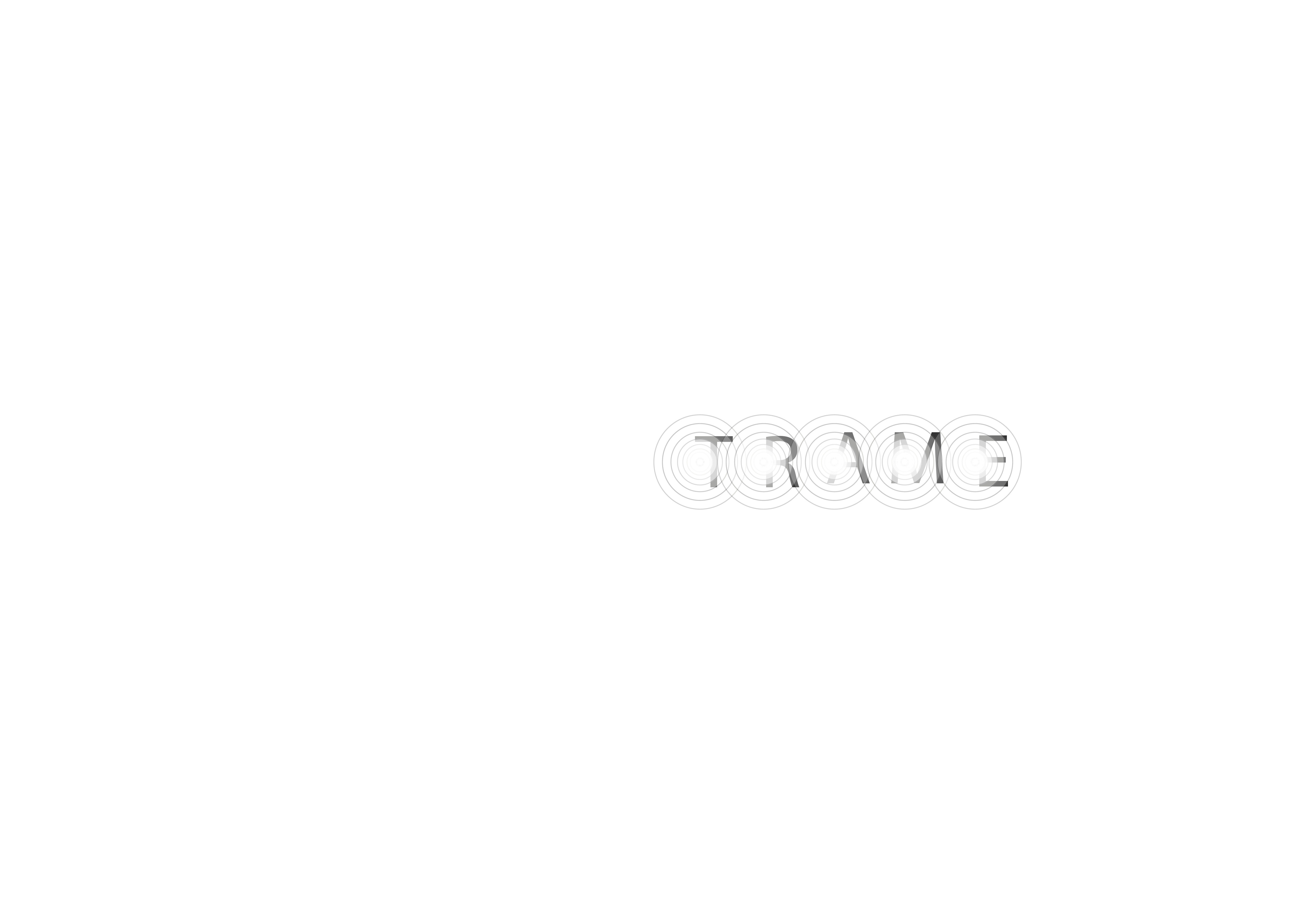 Trame | Typographie finale