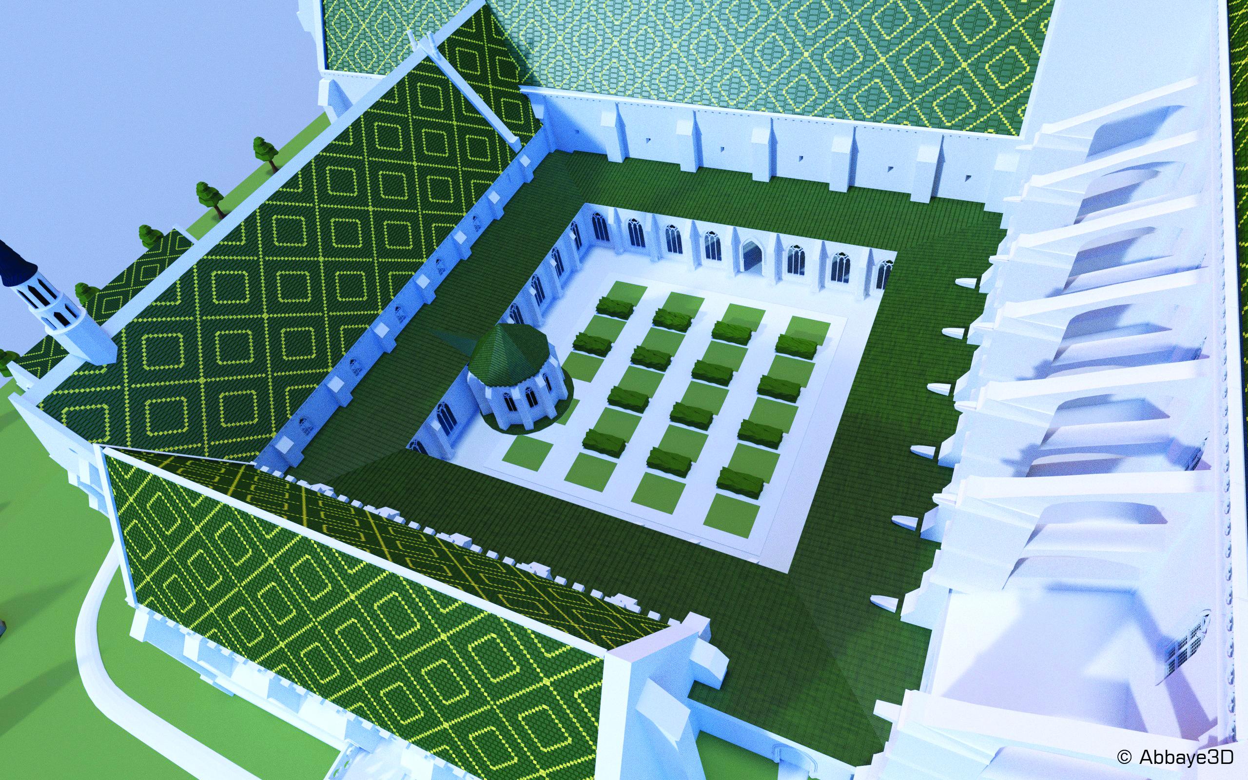 Abbaye 3D | Cloitre_lpmn_©abbaye3D