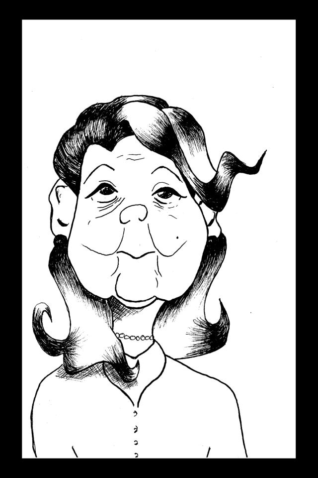Sacré characters - Annie | Illustration