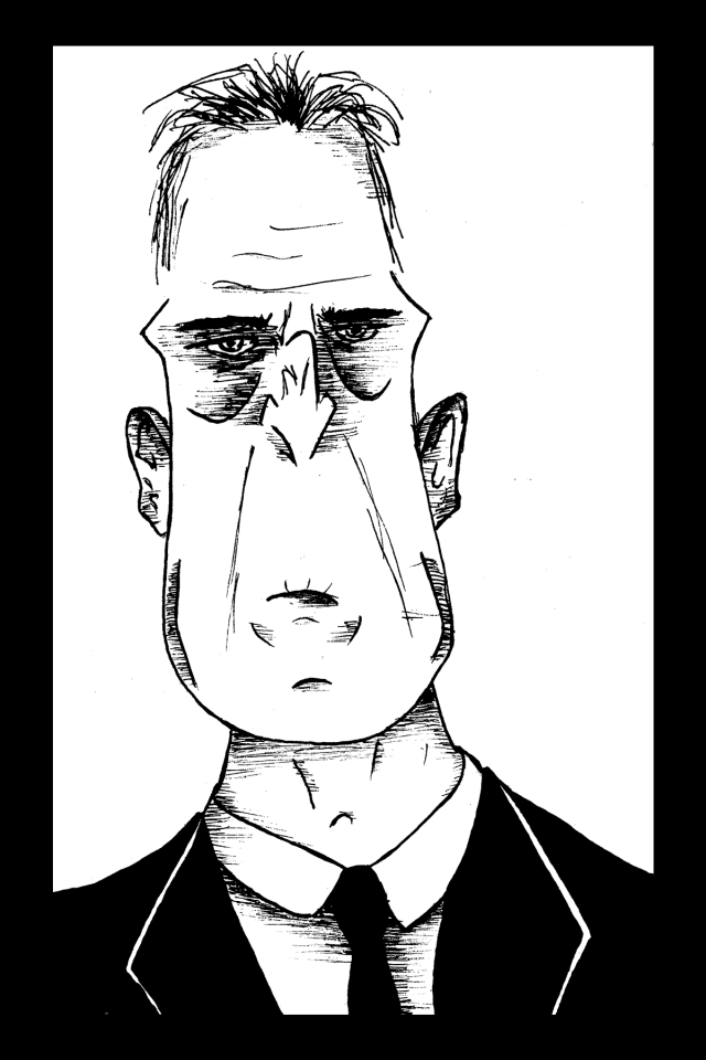 Sacré characters - Franck | Illustration