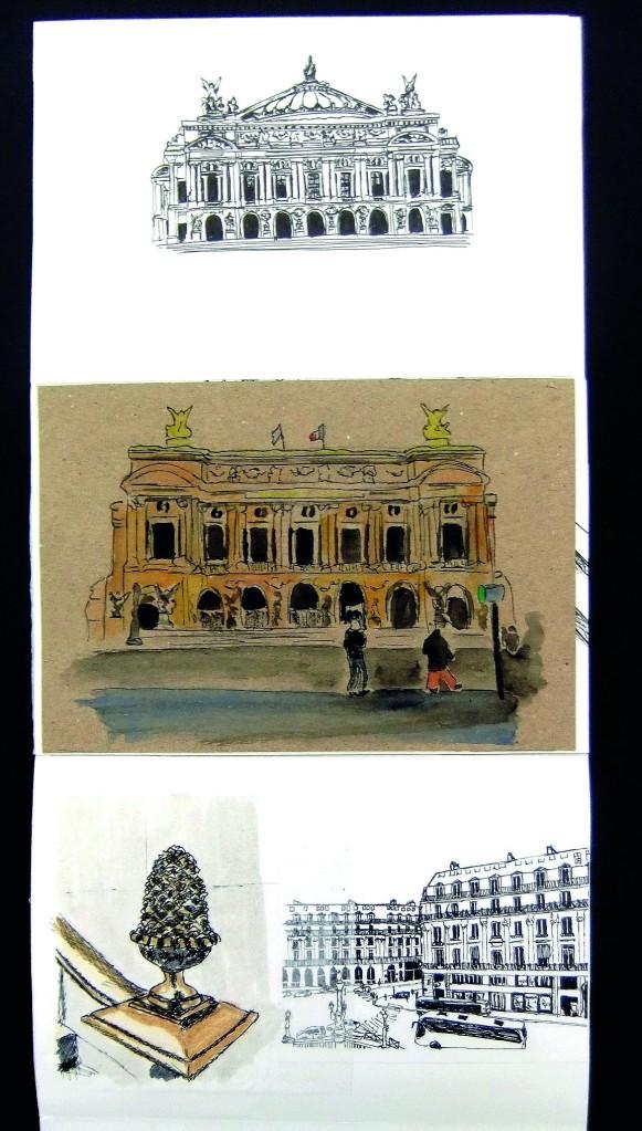 Dessines moi une maison - Opéra Garnier | Illustration