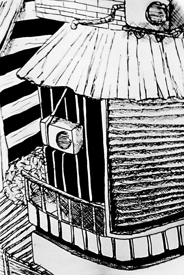 Dessines moi une maison - Japonisant | Illustration