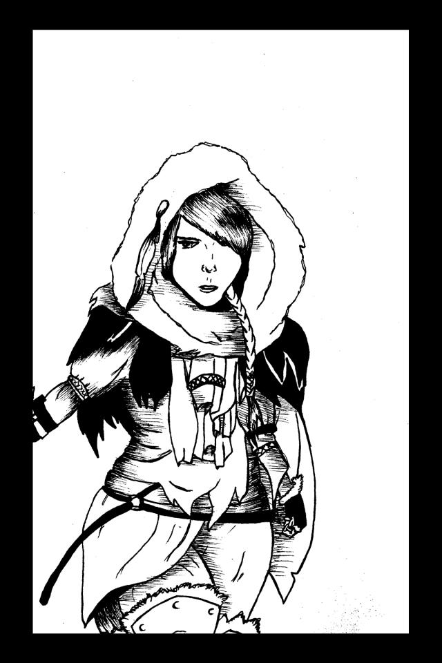 Sacré characters - Kyla | Illustration