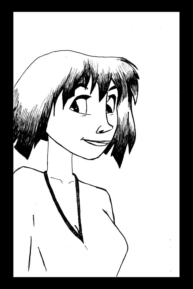Sacré characters - Lia | Illustration