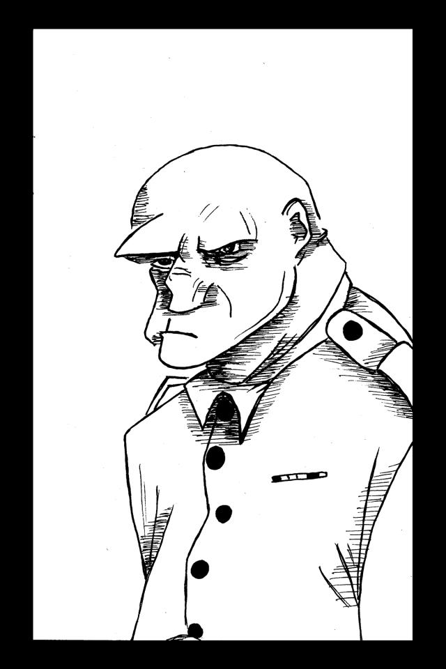 Sacré characters - Sergent | Illustration